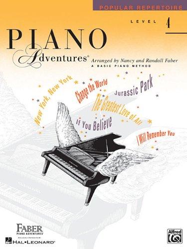 Piano Adventures, Level 4, Popular Repertoire 9781616773151
