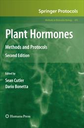Plant Hormones: Methods and Protocols 12996533