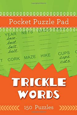 Pocket Puzzle Pad: Trickle Words 9781616267919