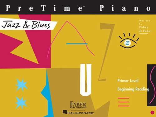 PreTime Piano, Primer Level, Jazz & Blues