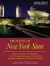Profiles of New York, 2016/17: Print Purchase Includes 2 Years Free Online Access 23590164