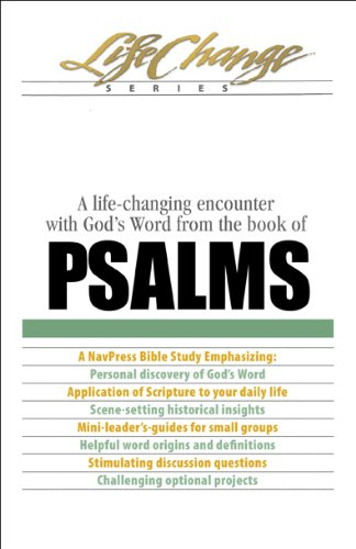 A Life-Changing Encounter with God's Word from the Book of Psalms 9781615211197