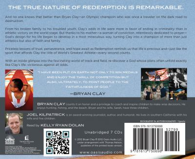 Redemption: A Rebellious Spirit, a Praying Mother, and the Unlikely Path to Olympic Gold 9781613750698