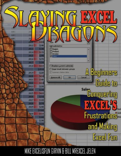 Slaying Excel Dragons: A Beginners Guide to Conquering Excel's Frustrations and Making Excel Fun 9781615470006