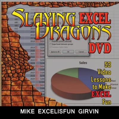 Slaying Excel Dragons DVD: 53 Lessons to Make Excel Fun 9781615470051