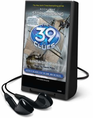 The 39 Clues, Book 9: Storm Warning [With Earbuds] 9781616578589