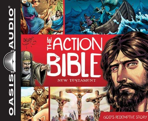 The Action Bible New Testament: God's Redemptive Story 9781613751664