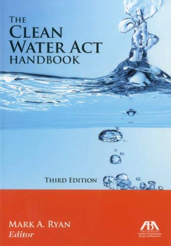 The Clean Water ACT Handbook 9781616329693