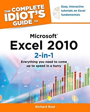 The Complete Idiot's Guide to Microsoft Excel 2010 2-In-1 [With CDROM] 9781615640744