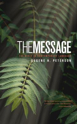 Message Bible-MS-Numbered: The Bible in Contemporary Language 9781615211074