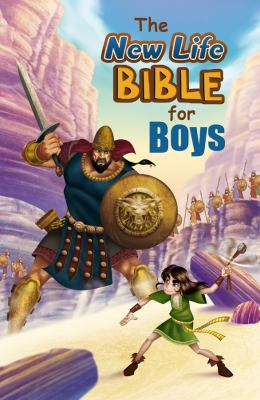 New Life Bible for Boys-NM 9781616265243