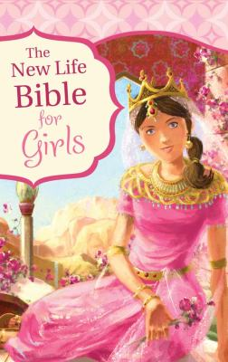 New Life Bible for Girls-NM 9781616265151