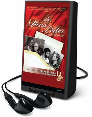 The Paris Letter [With Headphones] 9781615459414