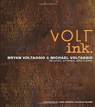 Volt Ink.: Recipes, Stories, Brothers 9781616281618
