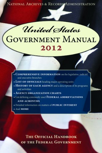 United States Government Manual: The Official Handbook of the Federal Government 9781616084479