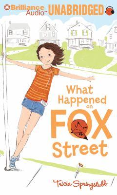 What Happened on Fox Street 9781611061147