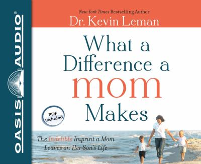 What a Difference a Mom Makes: The Indelible Imprint a Mom Leaves on Her Son's Life 9781613751961