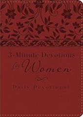 3-Minute Devotions for Women: Daily Devotional 21450581