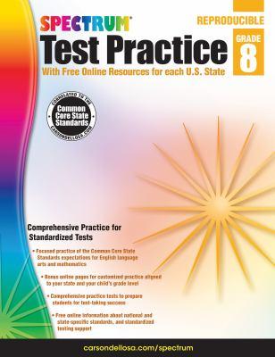 Spectrum Test Practice, Grade 8