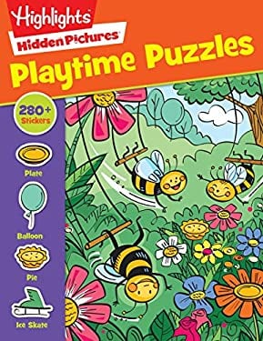 Hidden Pictures Playtime Puzzles