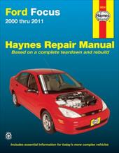 Ford Focus Automotive Repair Manual: 2000-2007 20705090