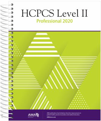 HCPCS 2020 Level II Professional Edition (HCPCS Level II (American Medical Assn))