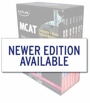 Kaplan MCAT Complete 7-Book Subject Review: Book + Online (Kaplan Test Prep)