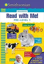 Smithsonian Readers: Read with Me! Pre-Level 1 23106495