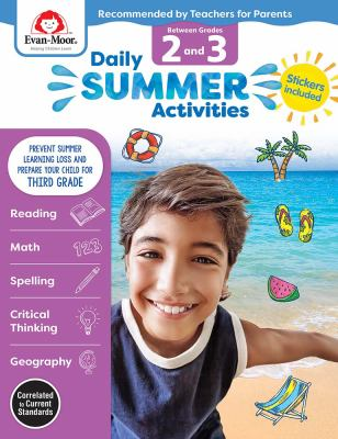 Daily Summer Activities, Between Grades 2 and 3