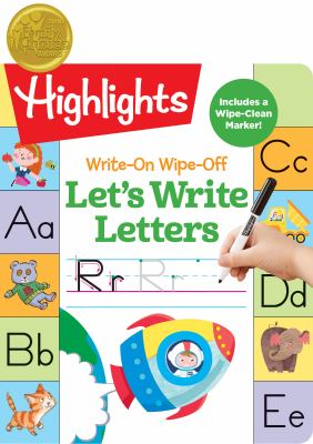 Write-On Wipe-Off Let's Write Letters (HighlightsTM Write-On Wipe-Off Fun to Learn Activity Books)