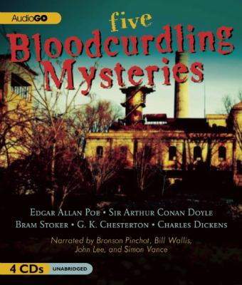 Five Bloodcurdling Mysteries 9781620641224