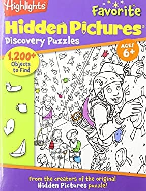 Hidden Pictures Favorite Discovery Puzzles