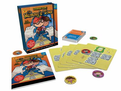 The Mummy's Tomb Board Game, Ages 8+ 9781620570807