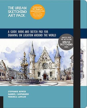 The Urban Sketching Art Pack: A Guide Book and Sketch Pad for Drawing on Location Around the WorldIncludes a 112-page paperback book plus 112-page ske
