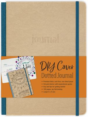 DIY Cover Dotted Journal: DIY Dotted Journal