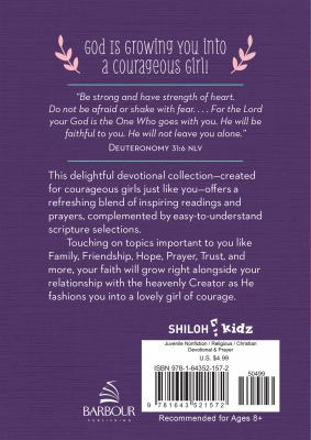 How God Grows a Courageous Girl: A Devotional (Courageous Girls)