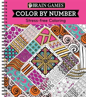 Color by Number: Stress-Free Coloring