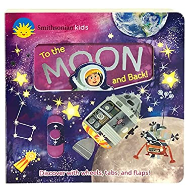 Smithsonian Kids To The Moon: Deluxe Activity Board Book