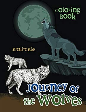 Journey of the Wolves Coloring Book