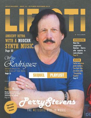 Lifoti Magazine: Perry Stevens Cover Issue 10 October and November 2019