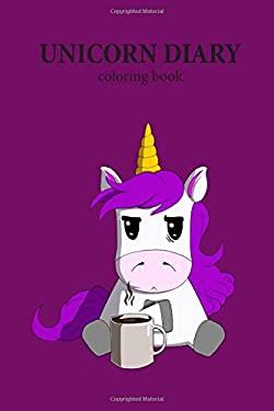 Unicorn Diary: coloring book