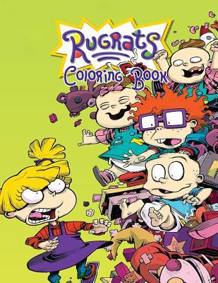 Rugrats Coloring Book: Coloring Book for Kids and Adults with Fun, Easy, and Relaxing Coloring Pages (Coloring Books for Adults and Kids 2-4 4-8 8-12+