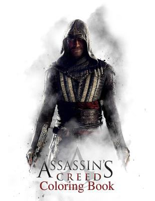 Assasin's Creed Coloring Book: Coloring Book for Kids and Adults with Fun, Easy, and Relaxing Coloring Pages (Coloring Books for Adults and Kids 2-4 4