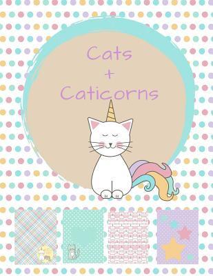 Cats and Caticorns: Sticker Album and Scrapbook