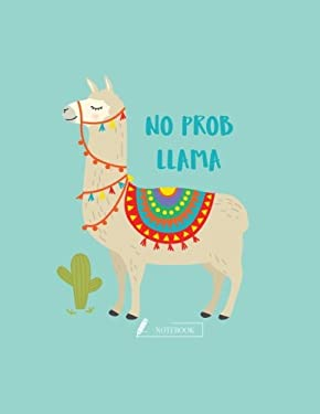 Notebook: Cute llama cover and Dot pages, Extra large (8.5 x 11) inches, 110 pages, notebooks and journals (Cute llama notebook,) (Volume 1)