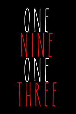 One Nine One Three: Blank Lined Journal 6x9: Delta Sigma Theta gift for a soror; Gift for sisterhood or future soror