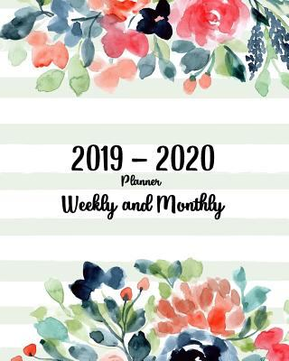 2019-2020 planner weekly and monthly: 24 month from january 2019 - december 2020 work balance job schedule and holiday organizer