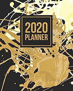 2020 Planner: January to December Agenda Monthly Calendar V2 (12 Month Planners)
