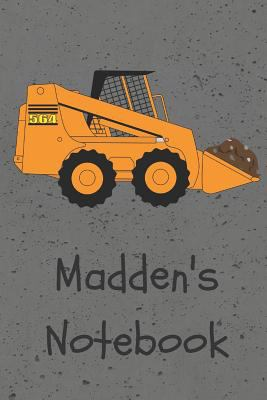 Madden's Notebook (JR Journals and Notebooks for Madden)