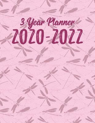 3 Year Planner 2020-2022: 36 Month Yearly Planner Monthly Calendar V6